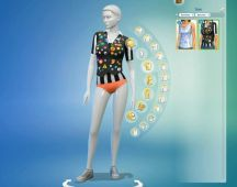 Sims 4 Restaurant Uniform (1)